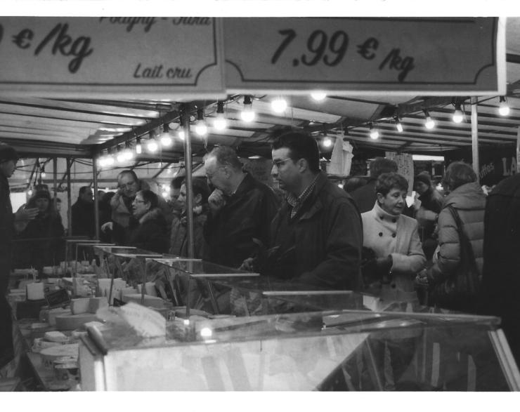 Postales: Mercado de Versalles